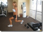 Lunge - Legs (side view)